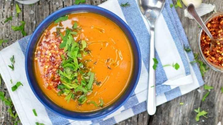 One-Pot Sweet Potato Soup