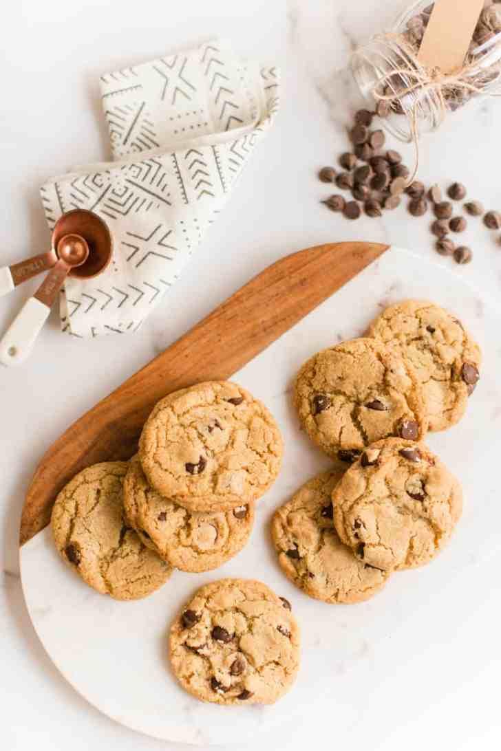 Chewy Vegan Chocolate Chip Cookies   WorldofVegan.com