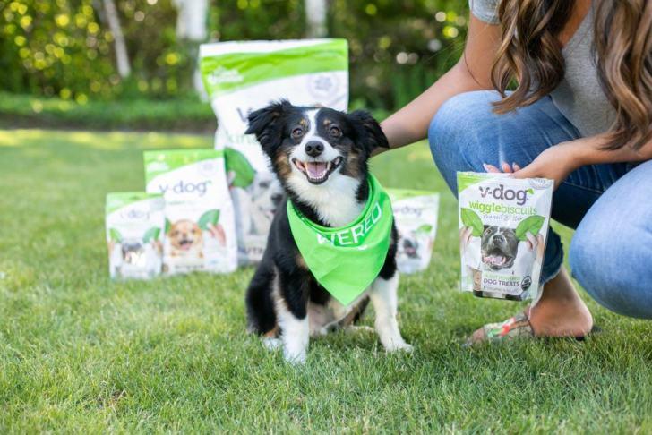 Vegan Dogs Love V-Dog Food - World of Vegan