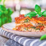 Vegan Lasagna with Tofu Ricotta and Marinara Sauce