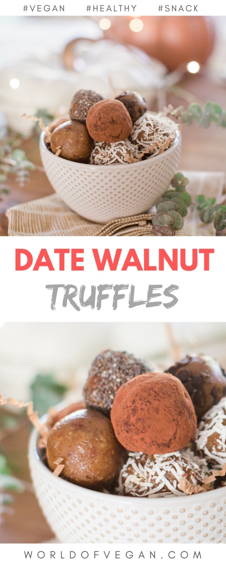Date Walnut Truffles That Taste Like Cookie Dough