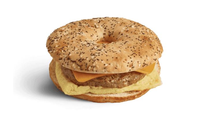 Vegan Breakfast Sandwich at Peets Coffee