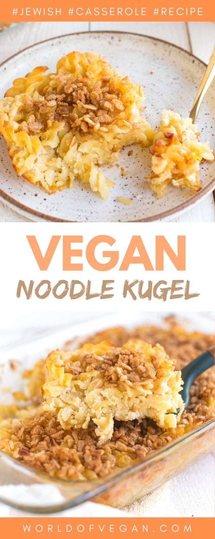 Vegan Jewish Noodle Kugel Recipe