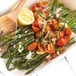 Vegan Sheet Pan Roasted Asparagus