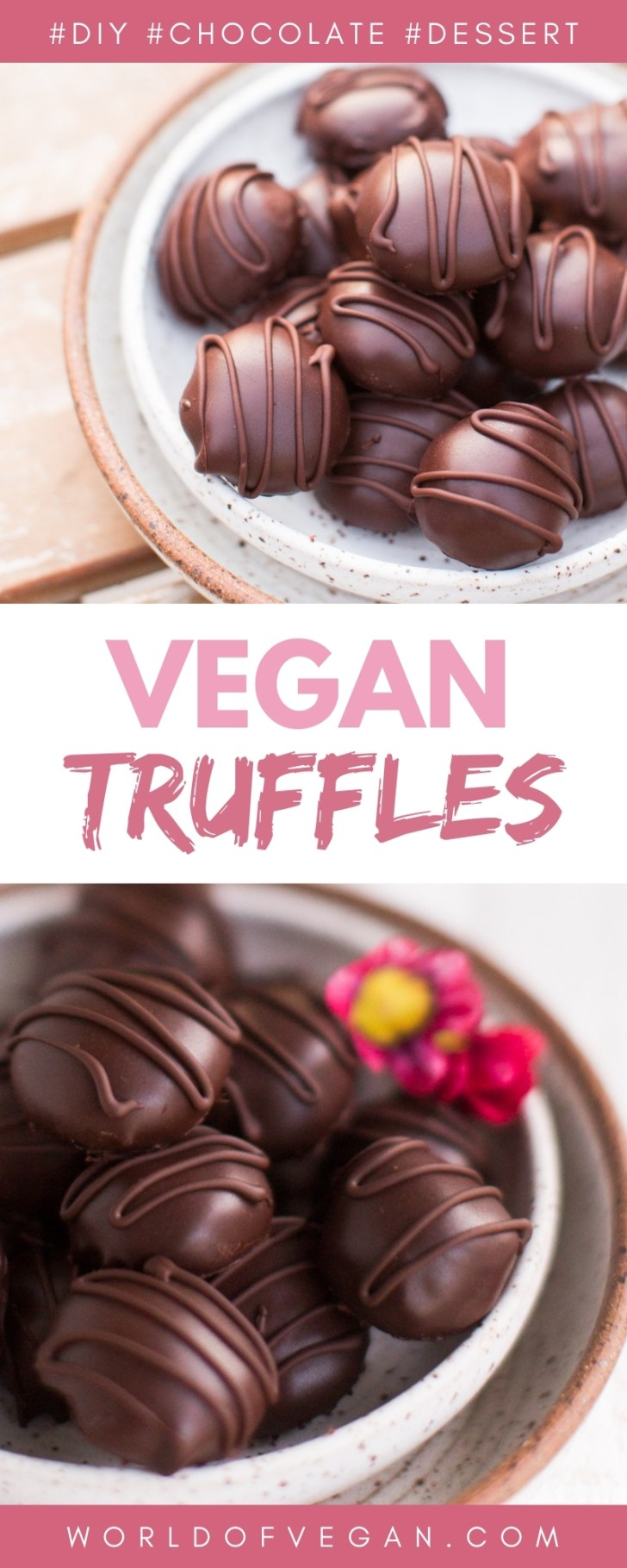 Homemade Vegan Chocolate Truffles Recipe