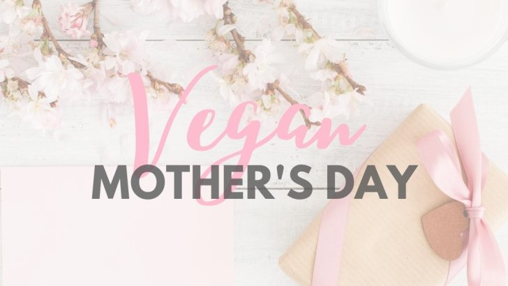 Vegan Mother's Day Gifts Guide