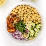 Vegan Chickpea Quinoa Salad