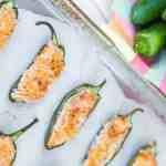 Easy Baked Vegan Jalapeno Poppers