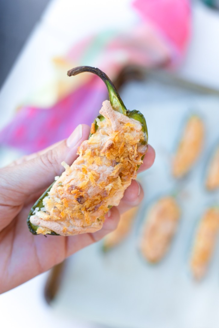 Baked or Grilled Vegan Jalapeno Poppers