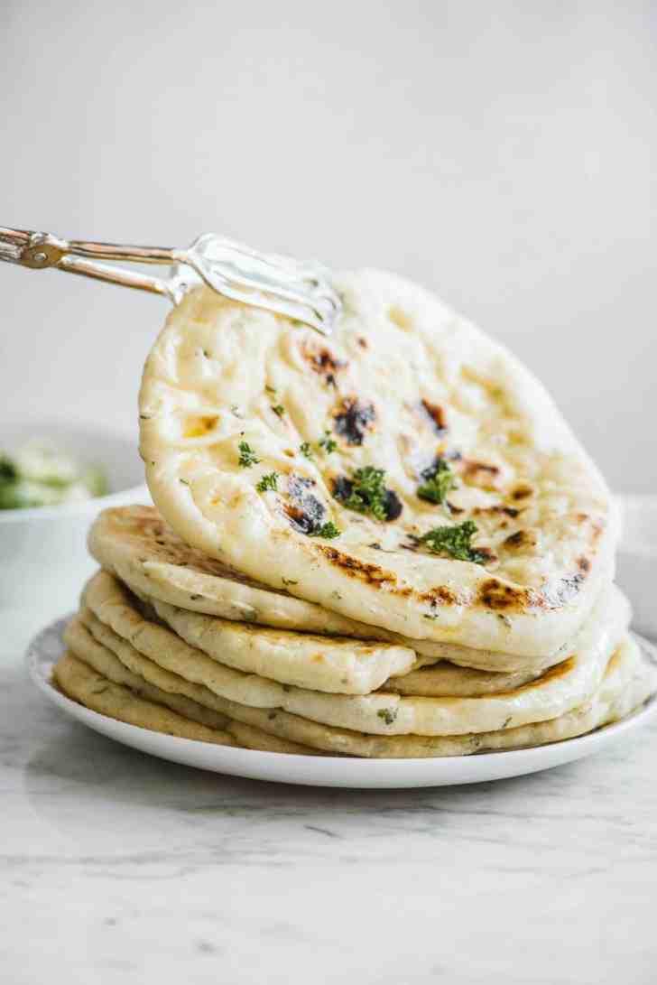 Easy Vegan Pita Bread Recipe Made on the Stovetop