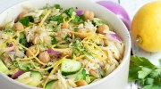 Herby Chickpea and Orzo Salad