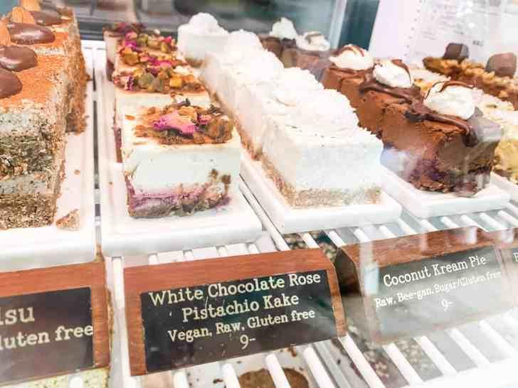 Organic Raw Gluten Free Vegan Desserts at Trilogy Cafe in Kauai