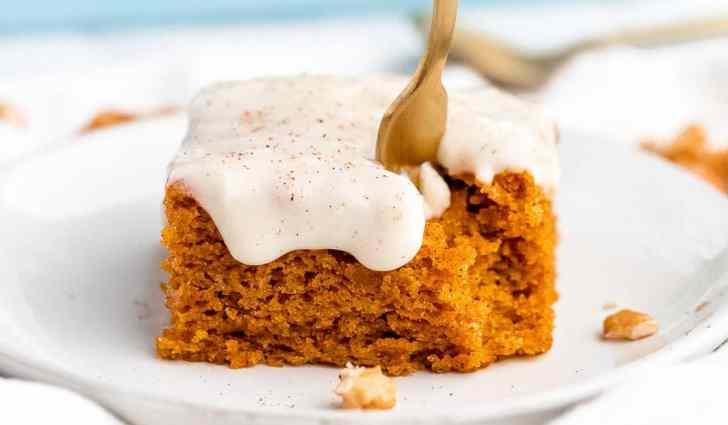 Vegan Pumpkin Sheet Cake Recipe by Jessica in the Kitchen