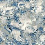 Elixir Marble Wallpaper Blue Gold Muriva 166504