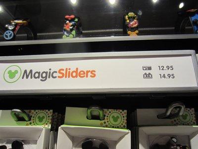 MagicBand MagicSlider Sign
