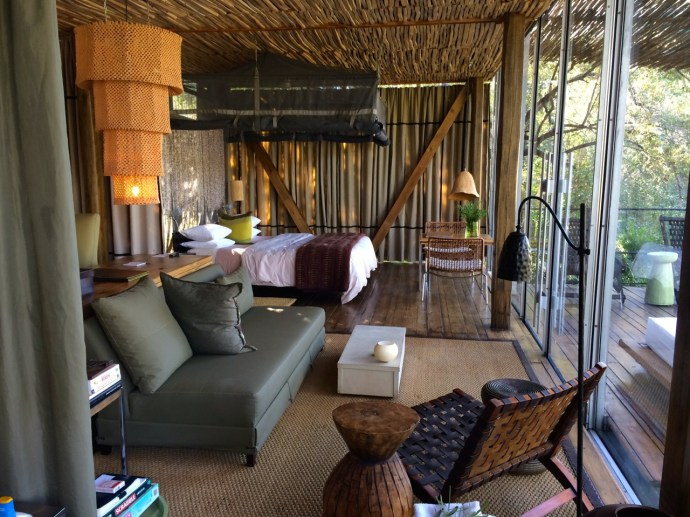 singita sweni luxury treehouse