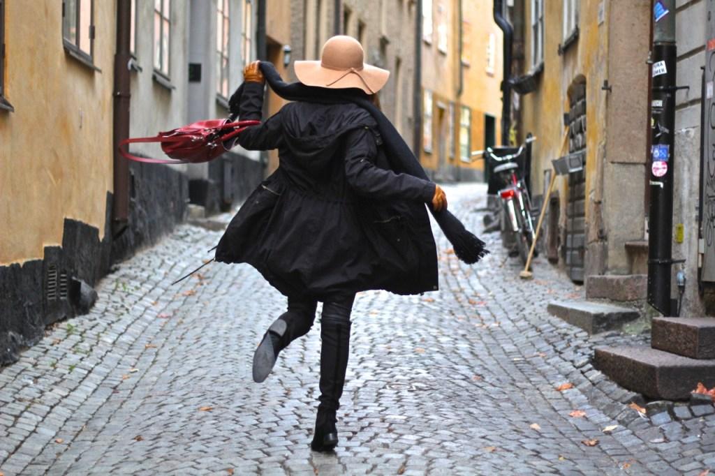 Brooke Saward in Stockholm