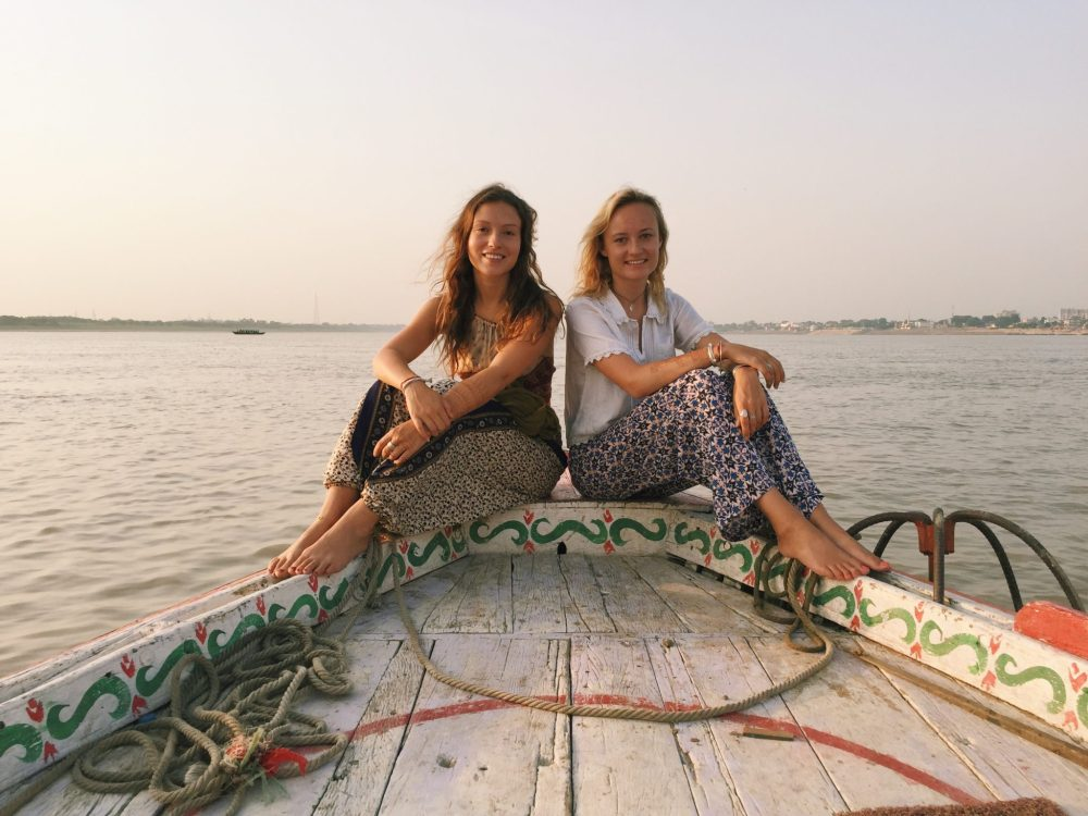 Ganges boat trip India