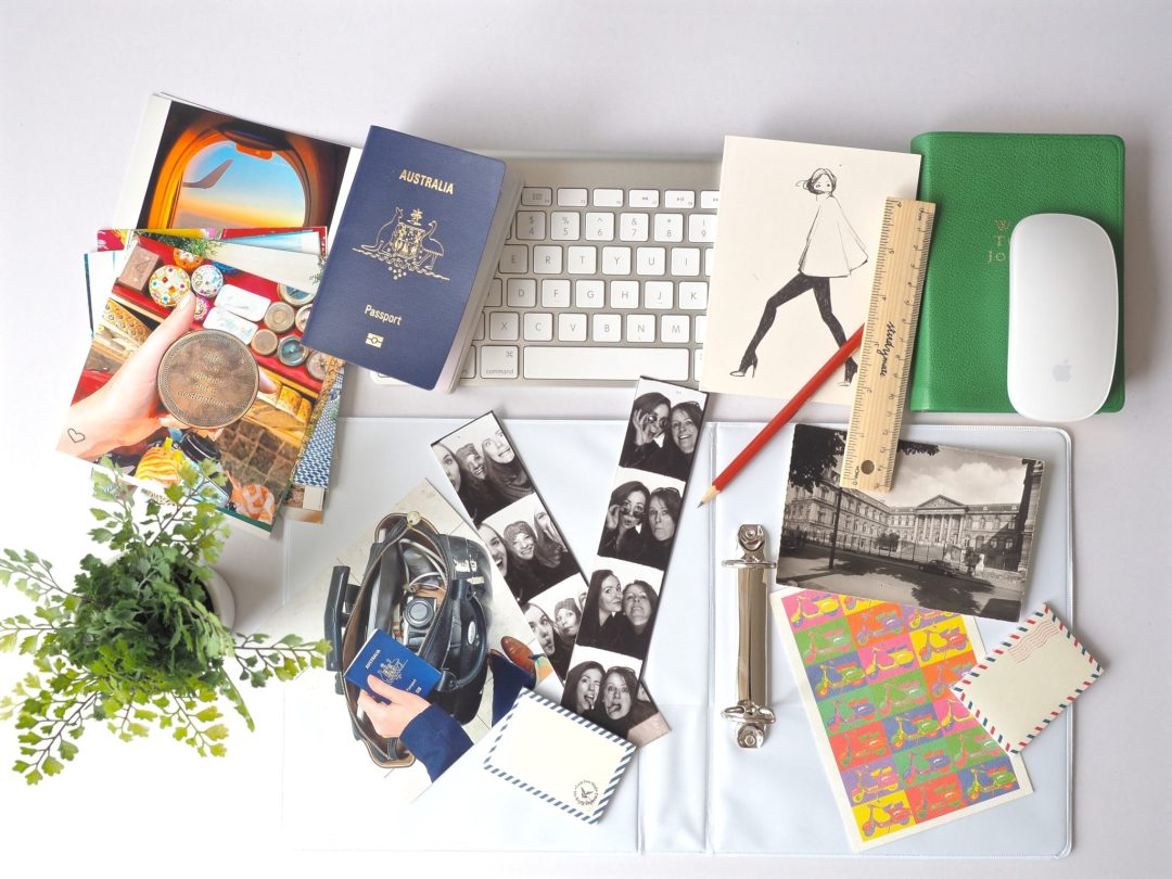 Travel Scrapbook DIY