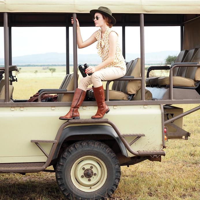 World of Wanderlust on Safari