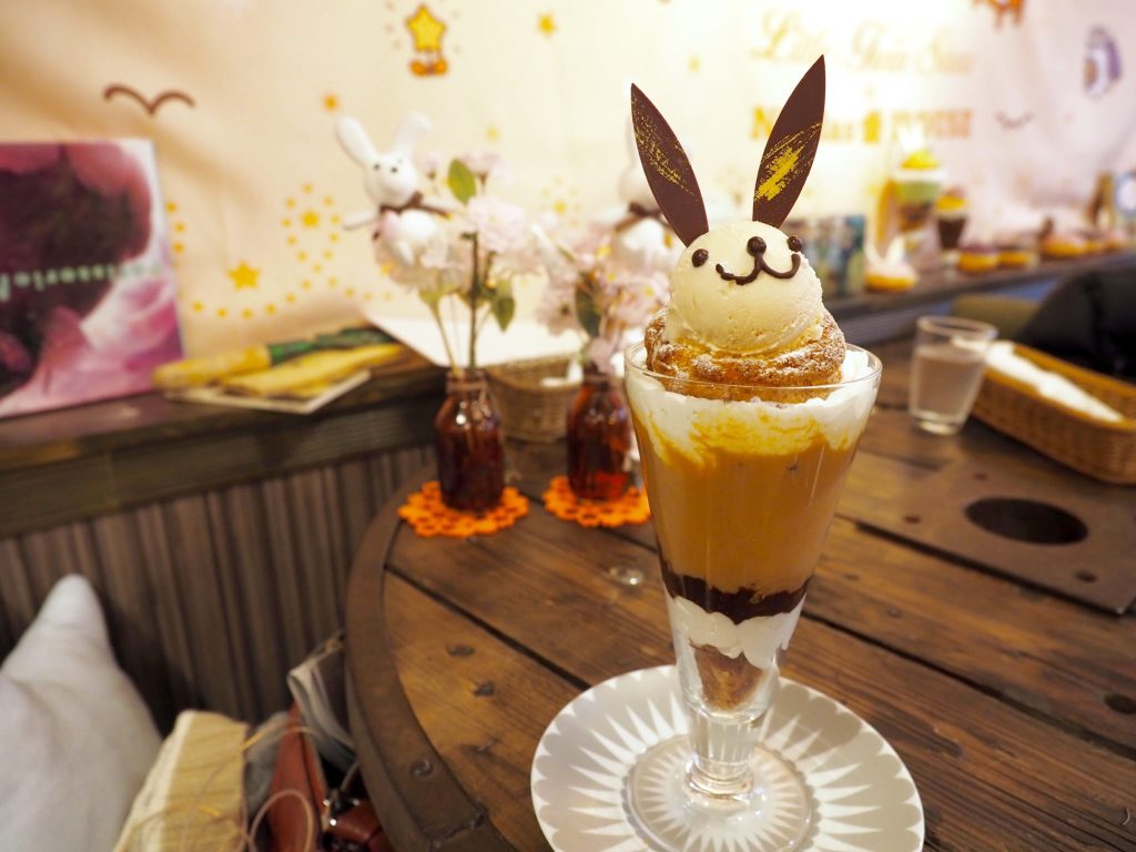 Bunny Cafe in Omotesando