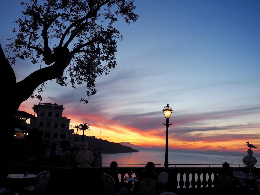 Sorrento Italy Sunset