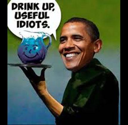 A dupicitous obama-kool-aid