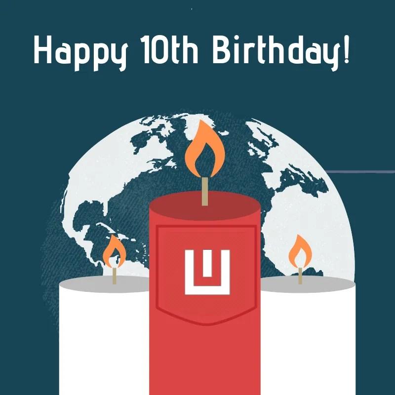 Worldoweb's 10th Birthday