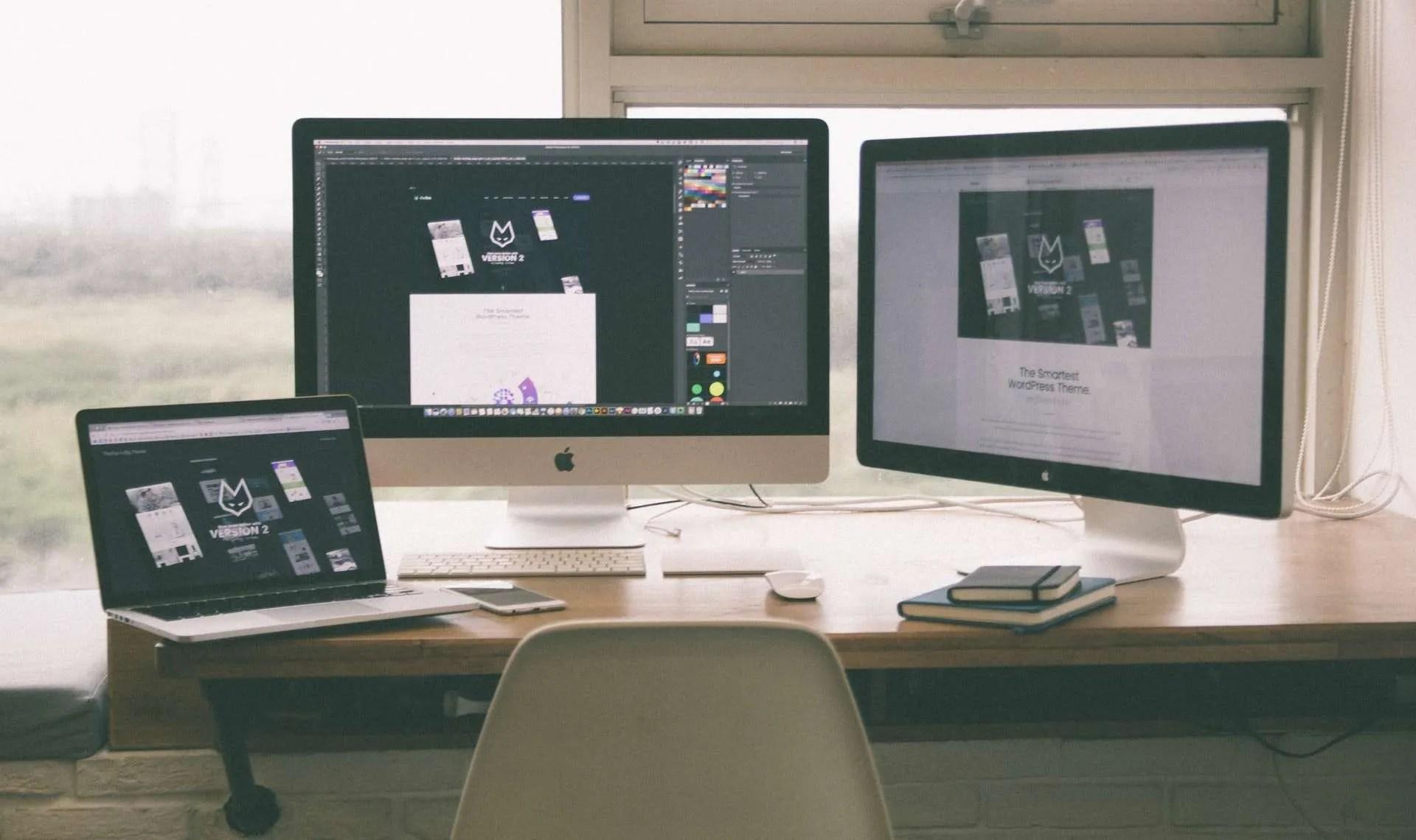 Web Design on Screens