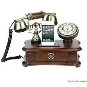 Pyle PRT551 Retro Home Telephone Dock
