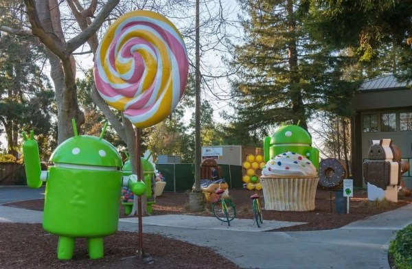 Android Lollipop Logo