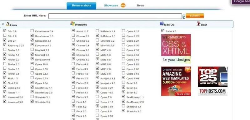 BrowserShots