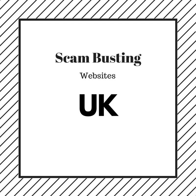 Scam Busting Websites