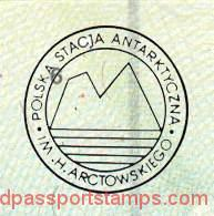 Antarctica - stamp from the Polish polar station