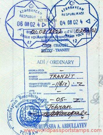 travels to Azerbaijan