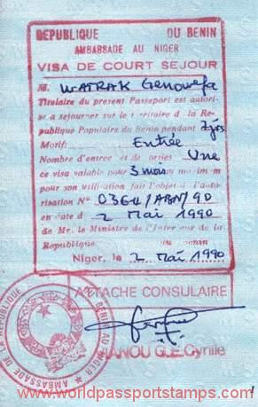 emigration in Benin