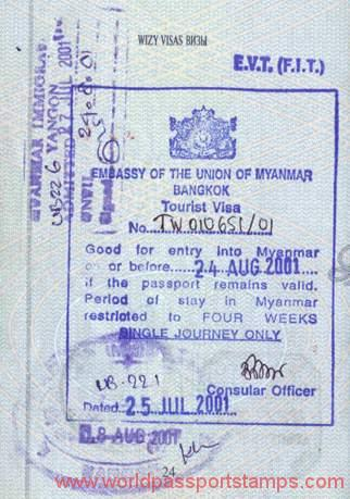 tourism in Burma (Myanmar)