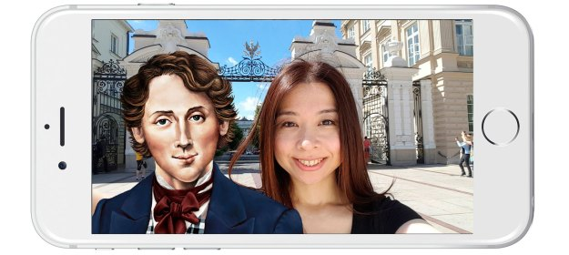 selfie with chopin