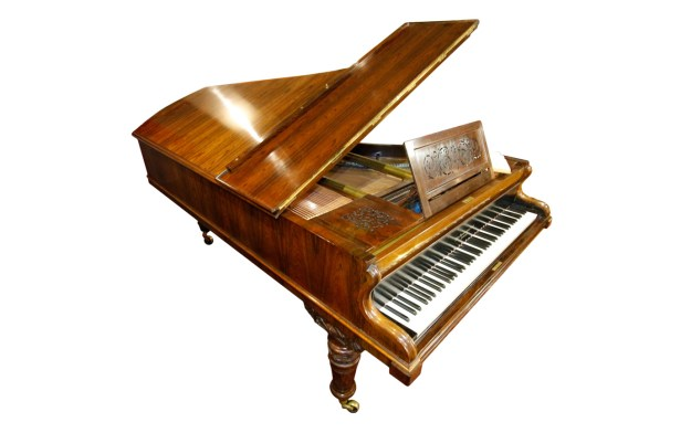 Broadwood grand piano belonging to Queen Victoria