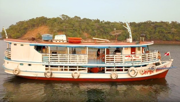 The Jorge Olinto Riverboat