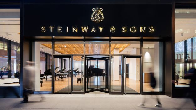 The new Steinway Hall