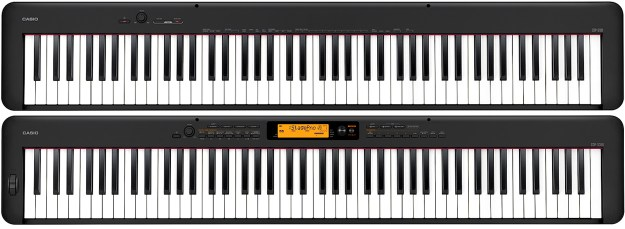 Casio CDP-S100 and CDP-S350 digital pianos