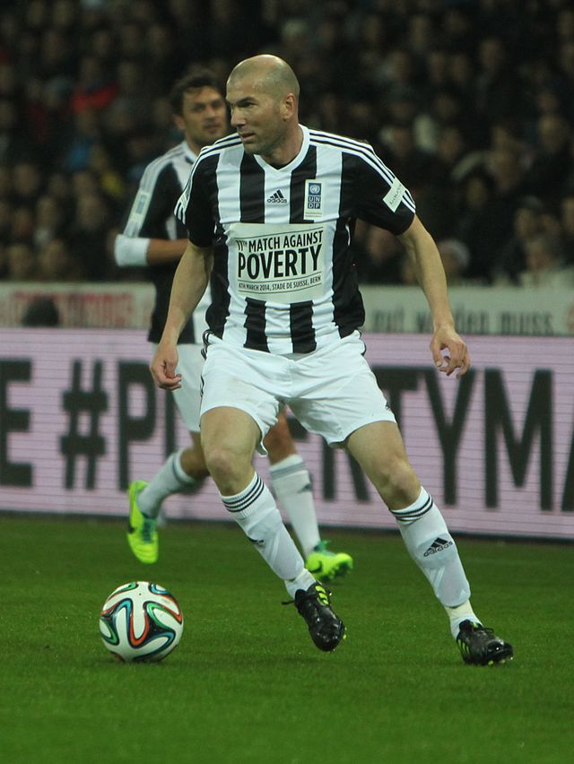 Football against poverty 2014 - Zinedine Zidane