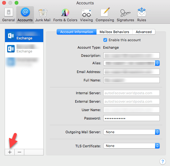 word image 20 - How to Configure Outlook for MAC Devices