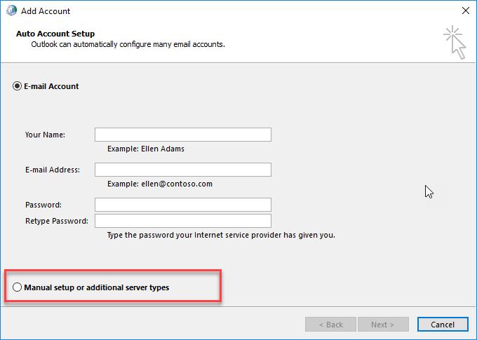 word image 13 - Configure WorldPosta on Outlook (Manual)