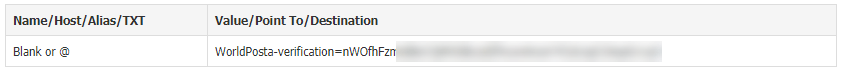 word image 11 domain verification - Registration: 2) Domain Verification