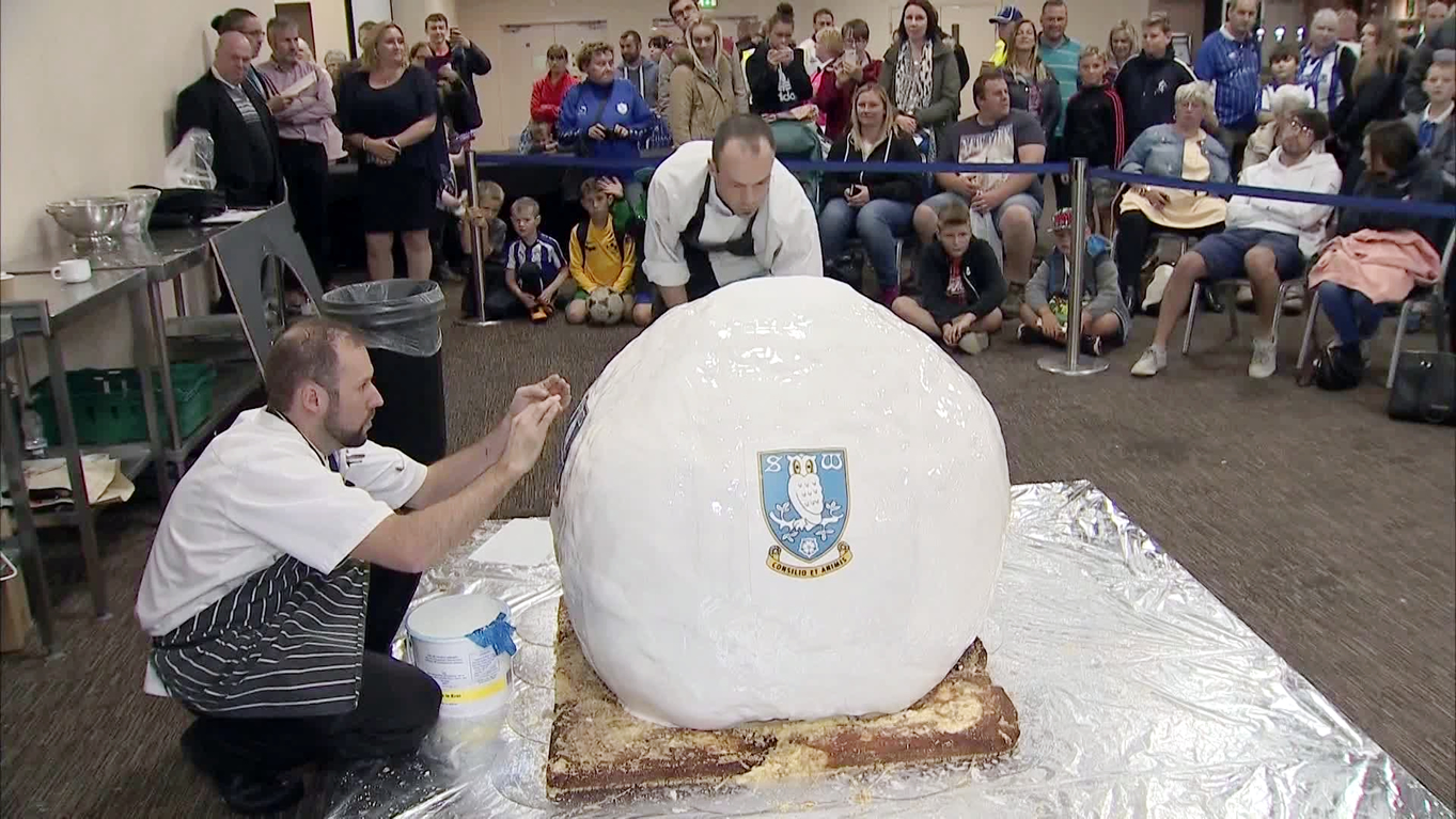 Largest Cake Ball World Record Set By Sheffield Wednesday