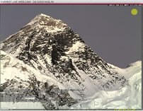 highest webcam on Mount Everest