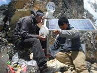 highest webcam on Mount Everest
