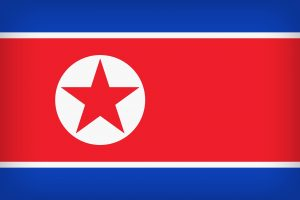 North Korean Flag Pixabay